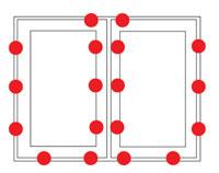 Grafik Hilzinger Fenster Sicherheitsstufe RC2